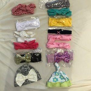 Accessories - 💕🌸Bundle Infant headbands