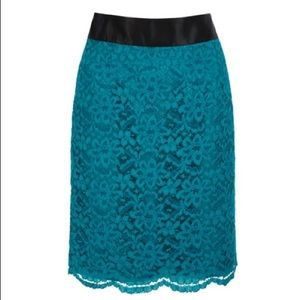 L'Wren Scott at Banana Republic Dresses & Skirts - L'Wren Scott Banana Republic lace skirt size 14