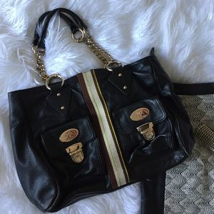 Christine Price Bag with gold details
