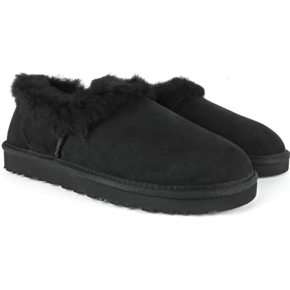 Authentic UGG Nita Black Slippers Size 10