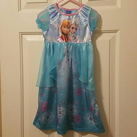 Pajamas | Frozen Nightgown | Poshmark