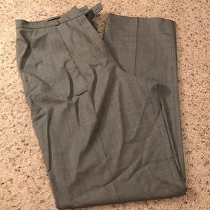 Escada grey/black trousers