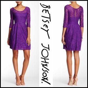 Betsey Johnson Dresses & Skirts - ❗️1-HOUR SALE❗️BETSEY JOHNSON DRESS A-Line Lace