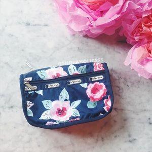 LeSportsac Handbags - 🎉 LESPORTSAC Travel Cosmetic in Navy Rose