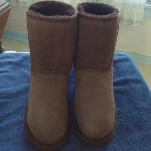 UGG Shoes - UGG Authentic Short Chocolate Boots sz7