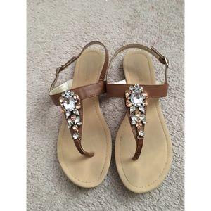 Jewel Encrusted Sandals
