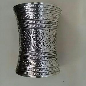 Jewelry - Fashionista Wide Cuff Bracelet