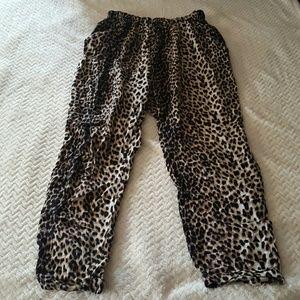 Cotton On Pants - Cotton On Flowy Pants Harem Size Large