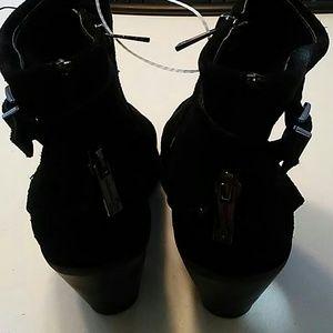 Jessica Simpson Shoes - Jessica Simpson. Short Black Boot ankle bootie