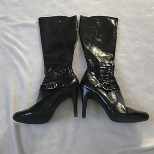 Marc Fisher Shoes - Marc Fisher Black Heeled Boots