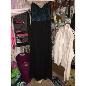Macy's Dresses & Skirts - Strapless maxi dress