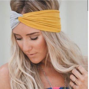 ⭐️HP x2⭐️ Twist turban colorblock headband