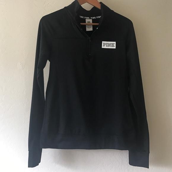7d86d342fc Pink Black Ultimate Quarter Zip Pullover. M 588e6803b4188e4336027842