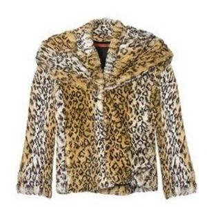 Alice + Olivia leopard coat