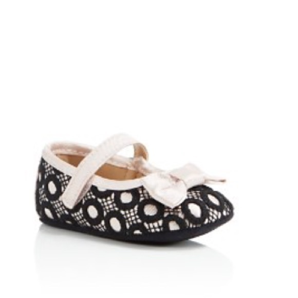 568342673c58 Kate Spade® Baby girl Circle Lace Mary Janes