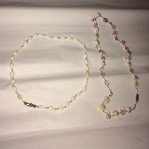 Other - 💚Sea shell necklaces set of 2💚