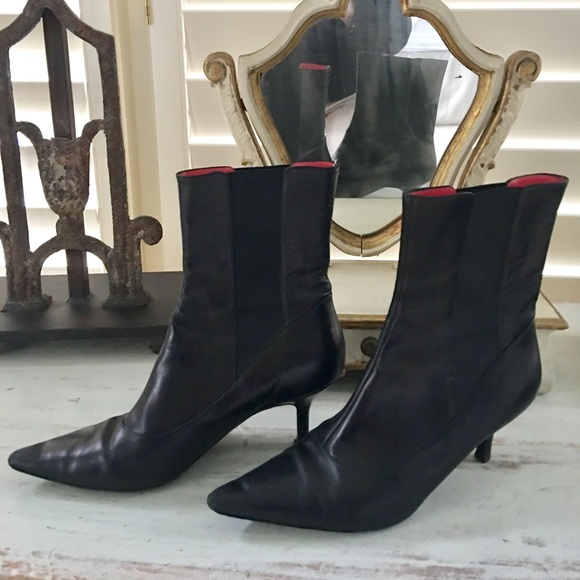 Judith Leiber Leather Boots V3HQ0PUj7