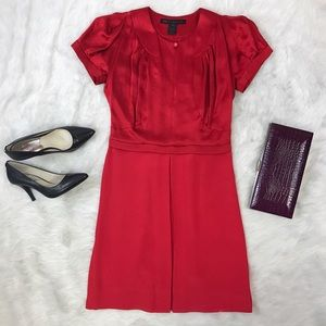 Marc Jacobs Dresses & Skirts - Marc by Marc Jacobs Retro Red Silk Dress