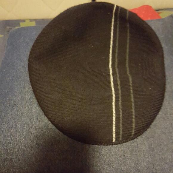 9c5d407aa0f Black kangol slouch hat