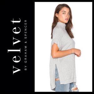 Velvet Tops - NEW!  Velvet by Graham & Spencer Josephine poncho