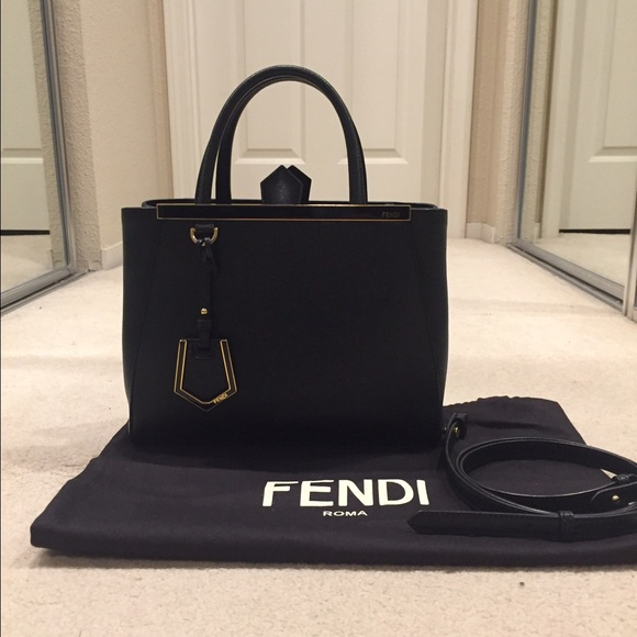 Fendi Bags   Petite 2jours Leather Tote   Poshmark 38312f6a71