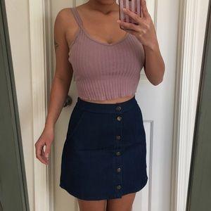 Dresses & Skirts - Milky Way denim skirt