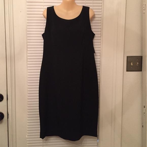 Kasper Dresses Simple Basic Little Black Dress Nwt Poshmark