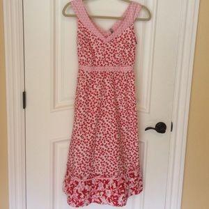 Hanna Andersson Dresses & Skirts - 🌺 Hanna Andersson Feminine Flower Cotton Dress 6!