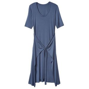 ATHLETA Front Tie Wrap Dress