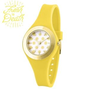 Accessories - Yellow Polka-dot Watch