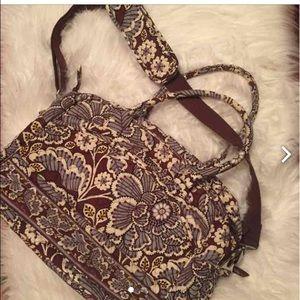 Vera Bradley laptop bag.