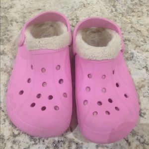 CROCS Other - Crocs Faux Fur Lined