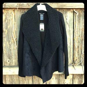Sweaters - NWT Sherpa Cardigan