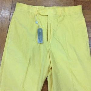 Hickey Freeman Other - NWT Hickey Freeman golf  yellow cords sz 34