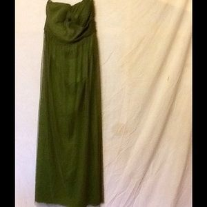 Jenny Yoo Norah maxi dress size 10 NWT green