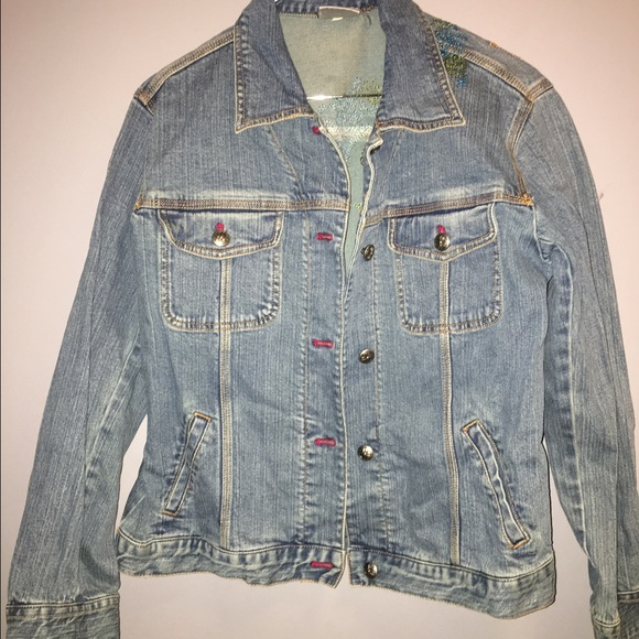 Chico's Jackets & Coats - Chico's Denim Jean Jacket sz Medium 1
