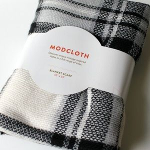 Accessories - Brand New Modcloth plaid blanket scarf