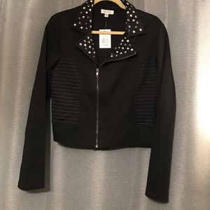 Jackets & Blazers - Stud black jacket