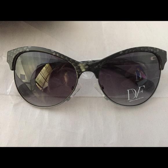 759b5b407c4 New Diane von Furstenberg snake Lena sunglasses