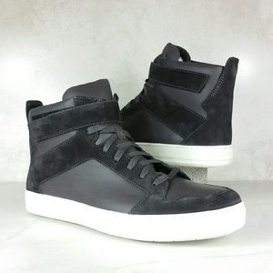 Vince Other - VINCE high-top leather & suede sneakers