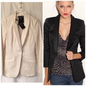 Guess Jackets & Blazers - GUESS boyfriend tux blazer! NWT! CREAM COLORED