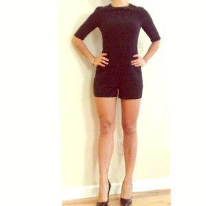 Ted Baker Dresses & Skirts - Ted Baker Black Shorts Romper / Jumpsuit