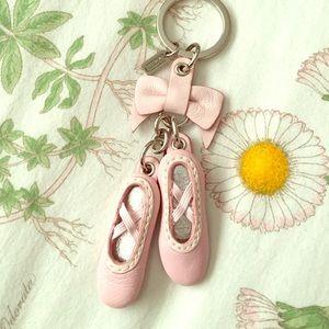 Coach Accessories - Coach Ballerina Key Chain