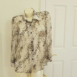 Alice + Olivia Tops - alice & olivia silk blouse sz S see measuremen
