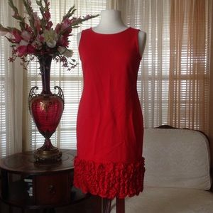 Just Taylor red dress