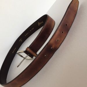 Brioni Other - 🥇BRIONI men's leather belt handmade in Italy