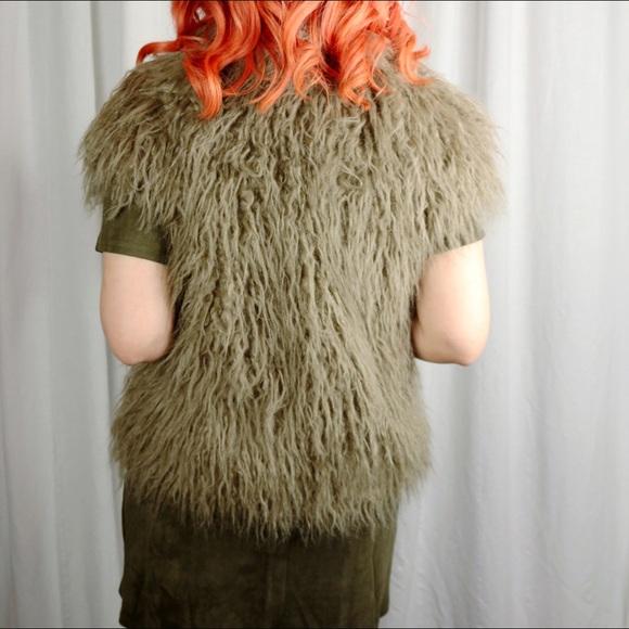 BB Dakota Jackets & Coats - Faux Fur Vest