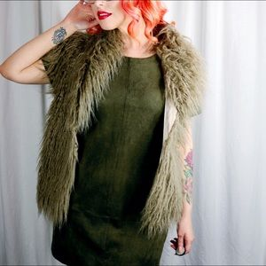 BB Dakota Jackets & Coats - Faux Fur Vest