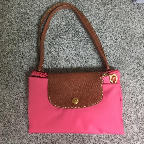3a4ad7539117 Longchamp Handbags - Longchamp Medium Le Pliage Tote in Hot Pink