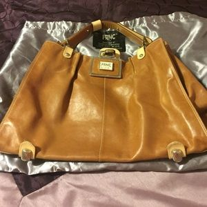 517c59eb58 FRNC Bags - Brown bag purchased in Italy 🇮🇹 with dustbag